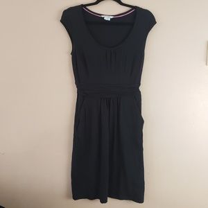 Boden Sleeveless  Black Dress Stretchy Sz 6 G3